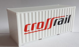 H0 20ft. Container Crossrail