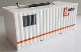 H0 20 ft. Container der Sersa, als Generator