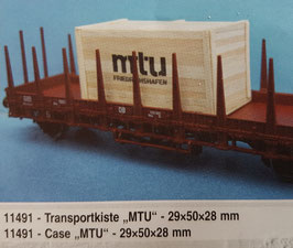 "H0 - Transportkiste ""MTU"""