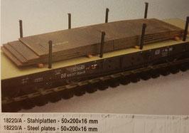 Stahlplatten Spur 0