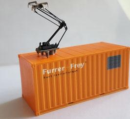 F+F Fahrleitungs-Messcontainer Furrer und Frey