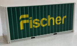 H0 20 ft. Container Fischer