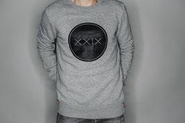 Classic Sweatshirt Grau / Schwarzer Aufdruck