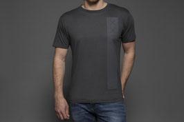 Männer Bamboo T-Shirt Charcoal