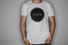 Männer Jersey T-Shirt Weiß &  Beanie - Mütze Grau