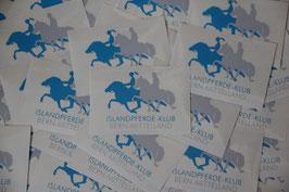 Islandpferdeklub Logo Aufkleber