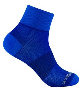 WrightSock Coolmesh II Quarter - Classic - blau