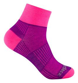 WrightSock Coolmesh II Quarter - Classic - pink