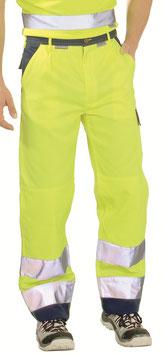 Planam - Warnschutz Bundhose 2-farbig