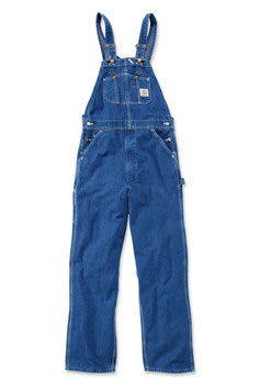 Carhartt - Washed Denim Overall / Jeans Latzhose
