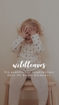 E-Book Kinder Shirt Wildleaves