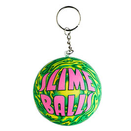 Santa Cruz Slime Balls Squishy  Keychain