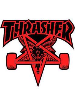 Thrasher Skategoat Sticker