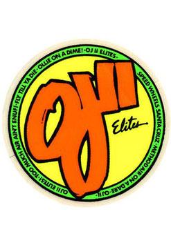 OJII Elites Wheels Sticker