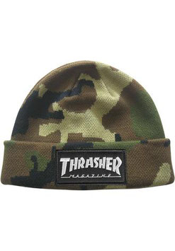 Thrasher  Logo Patch Beanie