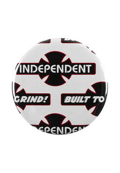 Independent Built to Grind Button