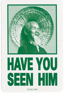 Powell Peralta Animal Chin Sticker
