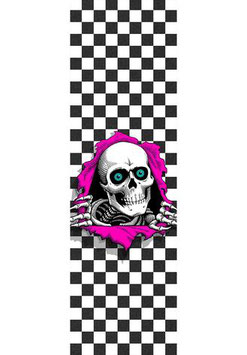 Powell Peralta Ripper checkered Griptape
