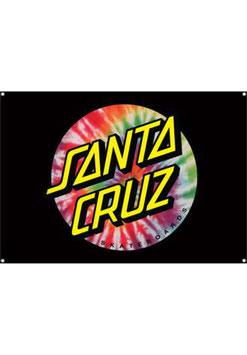 Santa Cruz Tie Dye Dot Flag