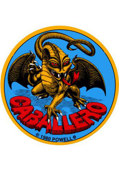 Powell Peralta Caballero Sticker