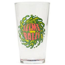 Santa  Cruz Slime Balls Pint Glass