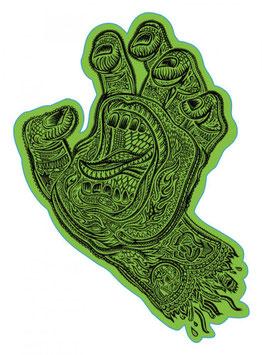 Santa Cruz Screaming Hand Muerte Sticker