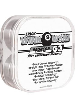Bronson Speed Co. Eric Winkowski Pro Bearing G3
