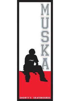Shortys Muska Sticker