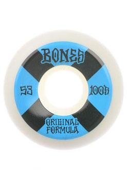 Bones Wheels 100's OG #4 V5 Sidecut 100A