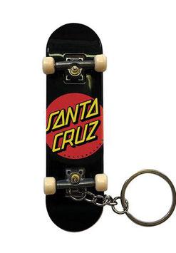 Santa Cruz Fingerboard Keychain Dot