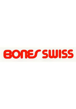 Bones Swiss Sticker