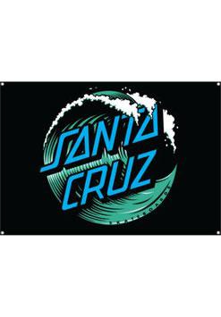 Santa Cruz Wave Dot Flag