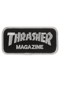 Thrasher Box Logo Aufnäher