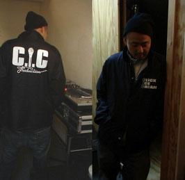 C.I.C コーチジャケット (Black) Size XL