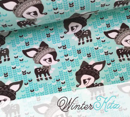 Sweat Winterkitz Aqua / 0.5m