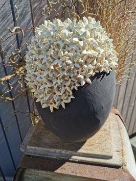 Blütenvase Perlmut 32cm hoch