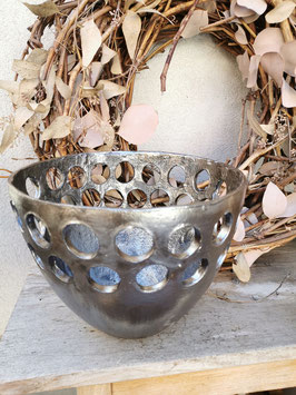 Leuchtobjekt aus feinster Keramik Anriksilber 25cm Durchmesser