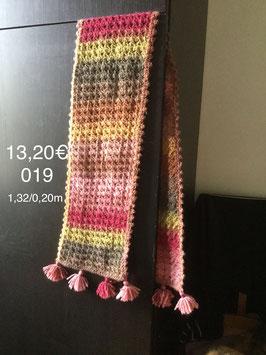019 Petite écharpe d'automne