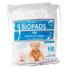 Carrés de coton Bio