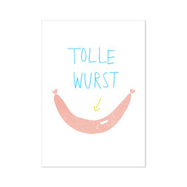 """Poster """"Tolle Wurst"""""""