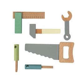 Holzwerkzeug-Set, 6-teilig