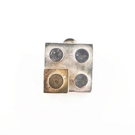 MONO ORECCHINO ALLEGORIA - quadrato