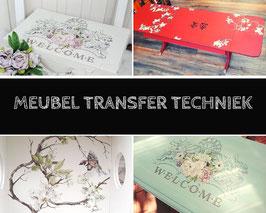 Meubel Transfer techniek