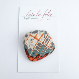Scorched Earth - brooch