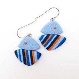 Fabiola -  Blue earrings (medium)