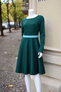 LASARE Kleid AVA grün/blau