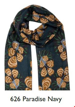 Zilch Scarf, paradise navy