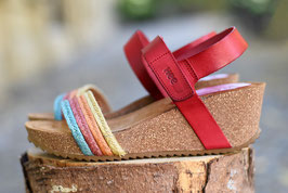 HEE! Shoes red multi
