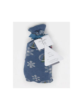 THOUGHT Harlene Snowglobe Socks in a bag, two pair