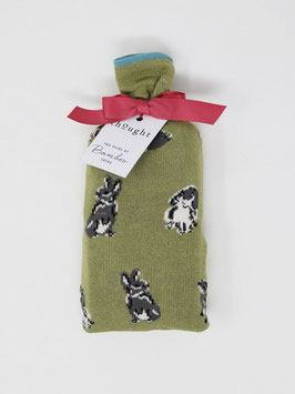 THOUGHT Bunny Socks in a bag, two pair